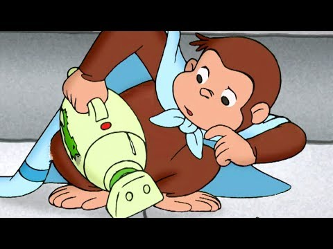 Curious George 🐵George Cleans Up 🐵 Kids Cartoon 🐵 Kids Movies | Videos For Kids