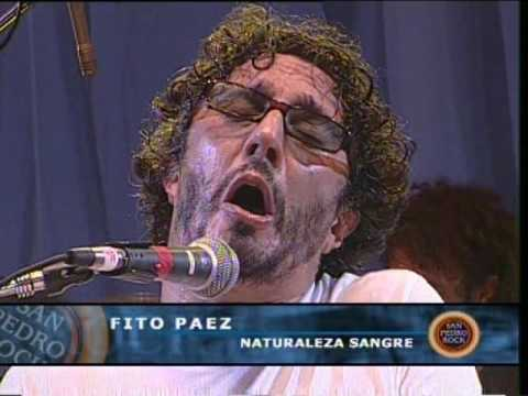 Fito Páez video Naturaleza sangre - San Pedro Rock II / Argentina 2004