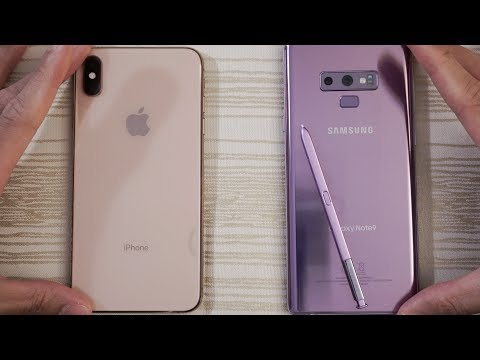 Video iPhone XS Max vs Samsung Note 9 - Speed Test! Can the Knight Eat an Apple? download in MP3, 3GP, MP4, WEBM, AVI, FLV January 2017