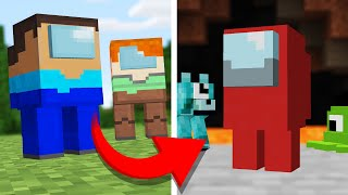 SAVING the Among Us PETS for Minecraft Crewmates!