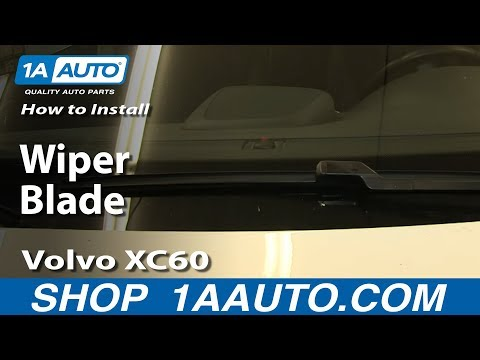 How To Install Replace Wiper Blade Volvo XC60