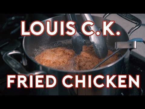 How to Prepare Louis CK  s Potluck Fried Chicken From His Television Series