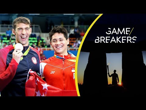 Joseph Schooling - The Michael Phelps Fan Who Beat Him at the Olympics | Game Breakers (видео)