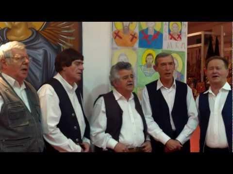 Anđelija vodu lila - izvodi muška pevačka grupa Zavičajnog udruženja Banijaca u Beogradu
