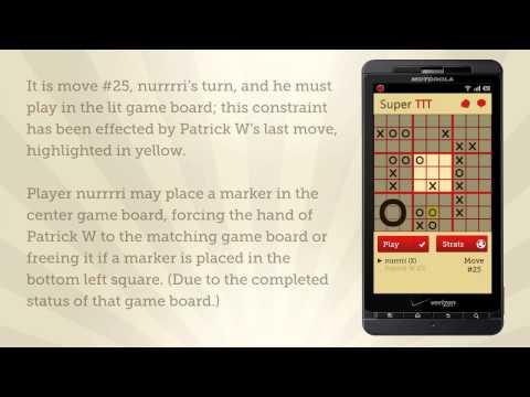 Video of Super TTT (Tic Tac Toe) Game