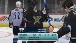 нарезка шайб в NHL'09