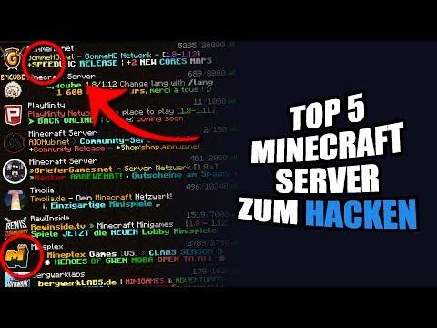 TOP MINECRAFT SERVER ZUM HACKEN ByEliteHacks - Minecraft server jetzt spielen