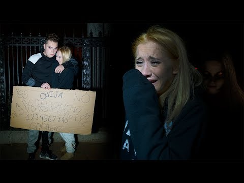 Video THE SCARIEST NIGHT OF MY LIFE (OUIJA BOARD IN CEMETERY) download in MP3, 3GP, MP4, WEBM, AVI, FLV January 2017