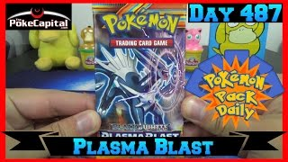 Pokemon Pack Daily Plasma Blast Booster Opening Day 487 - Featuring ThePokeCapital by ThePokeCapital