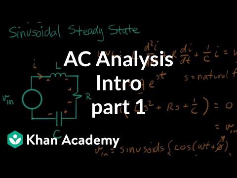 ac analysis intro 1 (video) khan academyElectronic Circuit Analysis Youtube #18