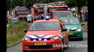 Video Grote optocht van Brandweer, Politie en Amerikaanse hulpdiensten voor 32ste Brandweerdag Almere! MP3, 3GP, MP4, WEBM, AVI, FLV Mei 2019