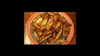 """GARLIC & HERB POTATO WEDGES"" will work well as a side dish for many main entrees (think STEAK)!  Give these a try with a multitude of your own varied herbs/spices, as well as your own choices of dipping sauces, or alone as is... coated in crispy goodness.  Enjoy!"