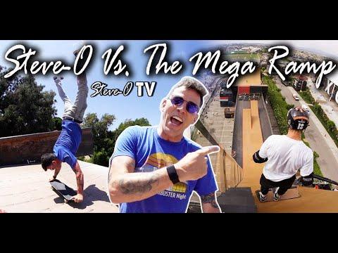 Steve-O vs. The Mega Ramp! | Steve-O TV