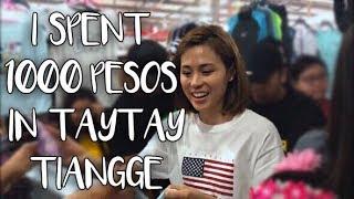 Video I SPENT 1,000 PESOS IN TAYTAY TIANGGE | Toni Gonzaga MP3, 3GP, MP4, WEBM, AVI, FLV Juni 2019
