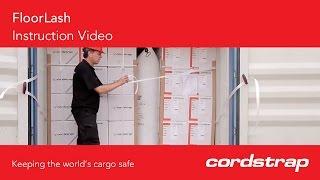 Cordstrap | 13 FloorLash + Composite Lashing + CB Buckle + Manual Tensioner