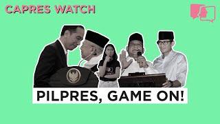 Video PILPRES, GAME ON! - Capres Watch #4 MP3, 3GP, MP4, WEBM, AVI, FLV Agustus 2018