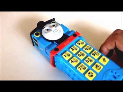 Thomas Tank Engine Cell Phone with the Phrases of  Edward, Henry, Gordon, James, Percy and more