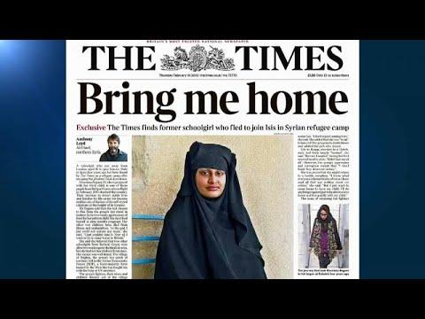 Schwangere britische IS-Frau (19) will zurück nach Lo ...