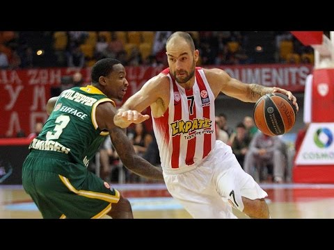 Highlights: RS Round 4, Olympiacos Piraeus 75-49 Limoges CSP