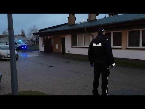 Wideo1: Policyjne zatrzymania na Gronowie