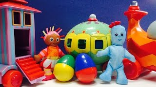 In The Night Garden Iggle Piggle Upsy Daisy and the Ninky Nonk Surprise Easter Egg Hunt!