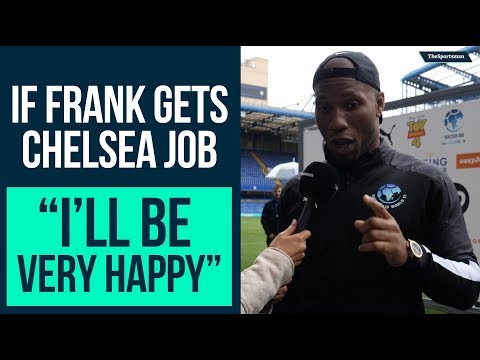 Didier Drogba wants Frank Lampard as Chelsea Manager   The Sportsman Soccer Aid 2019