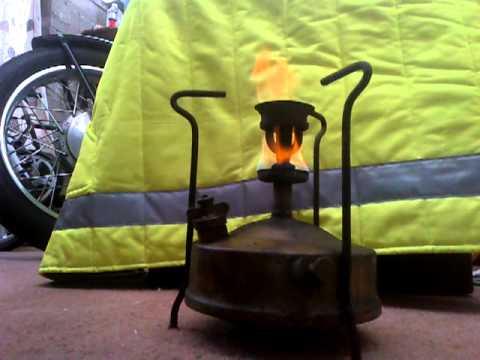 Valor Brass Pressure Stove lighting