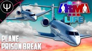ARMA 3: Life Mod — PLANE Prison BREAK!