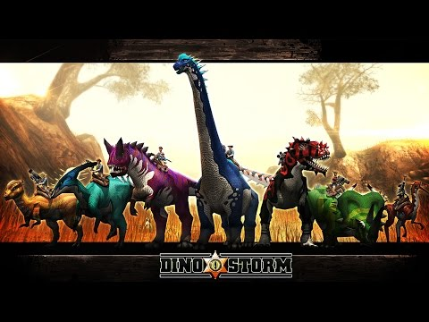 dinosaur - DinoStorm is a free-to-play online MMORPG where you wander about on the back of many awesome dinosaurs and kill other awesome prehistoric creatures and do dull collection missions because that's...