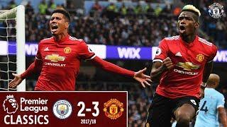 Download Video Premier League Classic | Manchester City 2-3 Manchester United | Pogba Double Sinks City MP3 3GP MP4