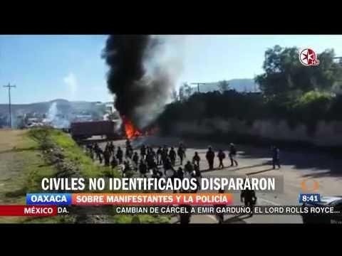 Entrevista de Comisionado Enrique Galindo por hechos en Nochixtl�n, Oaxaca