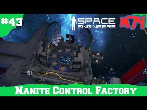 Video Space Engineers Survival Series: Nanite Control Factory[S1E43] download in MP3, 3GP, MP4, WEBM, AVI, FLV January 2017