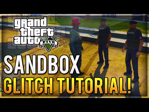 Cops - GTA 5 Glitches - New Sandbox Mode Glitch... Lets you permanently disable cops/police and you'll never get stars and you can also get godmode from falling damage! Follow Me on Twitter: https://twitt...