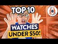 Download Lagu Top 10 Watches Under $50 - Seiko, Casio, Timex, Guanqin, Cadisen... Mp3 Free