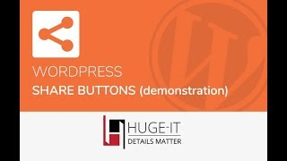 Huge-IT Share Buttons Demonstration