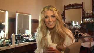 Delta Goodrem - Sitting On Top Of The World (Behind The Scenes)