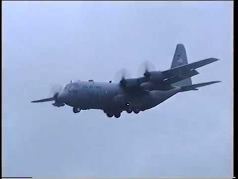 Ramstein AB C-141B Starlifter take...