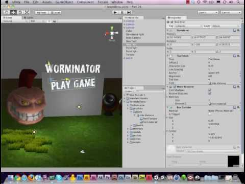 preview-#28 - Creating a MainMenu and adding Fonts in #Unity3D (TornadoTwins)