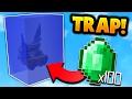 INSANE WATER SUFFOCATION TRAP in Minecraft Bed Wars!