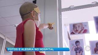 Exposição de fotos incentiva doação de sangue e medula em Jaú