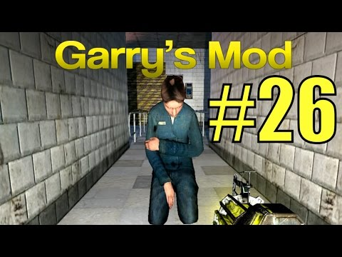 Garry's Mod #26. Побег. Эпизод 2. Алекс, Паук, EASYNICK.