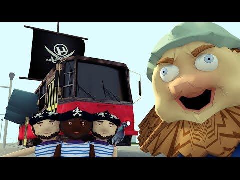 Дядя Страхуев и трамвайные пираты (3D-пародия на Спасаева)