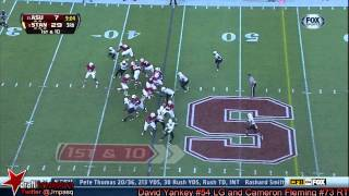 Cameron Fleming vs ASU (2013)