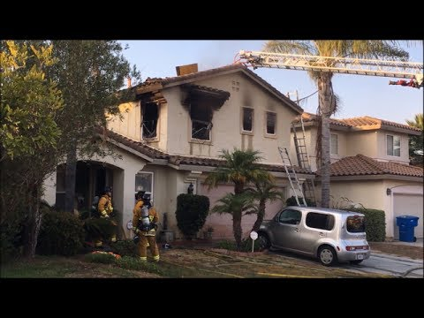 Chula Vista Two-Story Residential Fire 7/15/2017