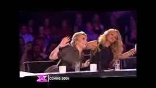 The X Factor Judges (Paulina Rubio, Kelly Rowland, Simon Cowell) Talk About Demi Lovato Promo