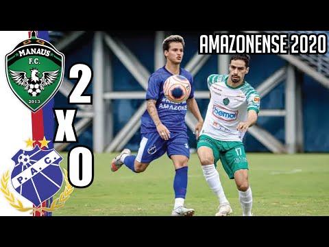Manaus FC 2x0 Penarol-AM