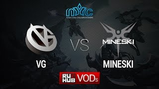 VG vs Mineski, game 2