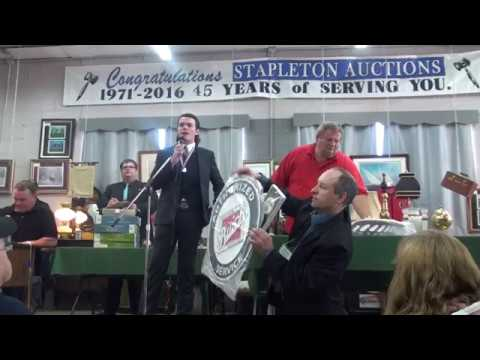 2017 Ontario Auctioneer Champion Chad Simmons (Experienced)