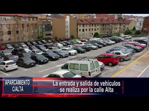 Nuevo aparcamiento provisional en la calle Alta