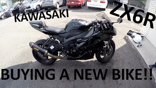 5. BUYING A NEW MOTORCYCLE | KAWASAKI ZX6R 2009